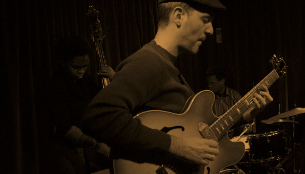 with Greg Wall at 323 Jazz