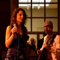 with Alma Micic trio at G Bar
