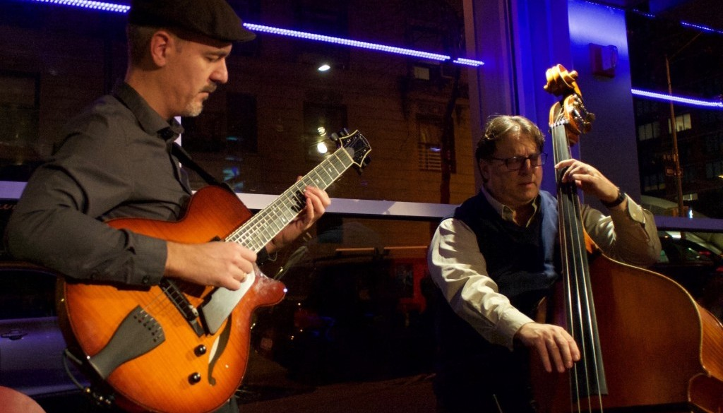 with Greg Wall at Jazz at 323 Main, Westport, CT