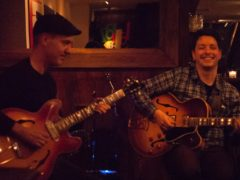 Rale Micic & Steve Cardenas duo Guitar x2 Series at Bar Thalia, Symphony Space