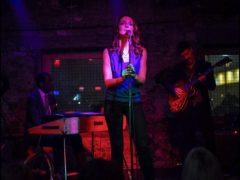 with Alma Micic trio at G Bar, NYC