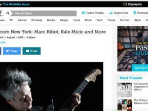 Night Music featured in Paste Magazine