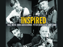 Rale Micic, John Abercrombie, Peter Bernstein, Lage Lung, Inspired album release at Blue Note, NY