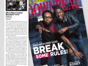 4 star review in Downbeat Magazine for Inspired