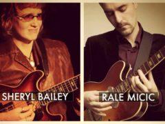 Rale Micic & Sheryl Bailey Duo, Guitar x2 Series at Bar Thalia