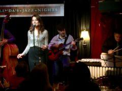 with Alma Micic at Linda's Jazz Nights